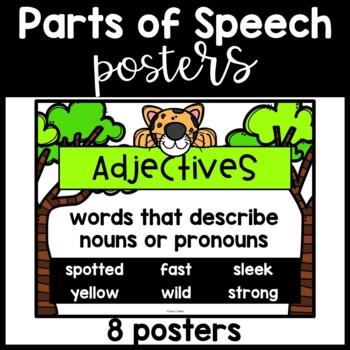 Parts of speech ~ Safari theme