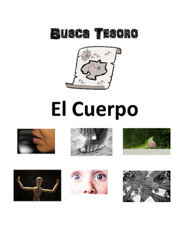 Scavenger Hunt Game: Partes del Cuerpo (parts of the body)