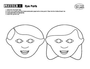 Parts of the Eyeball