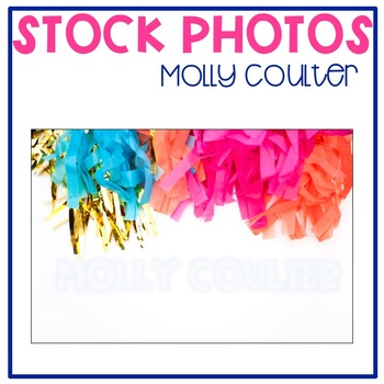 Stock Photo Styled Image: Party Banner #1-Personal & Comme