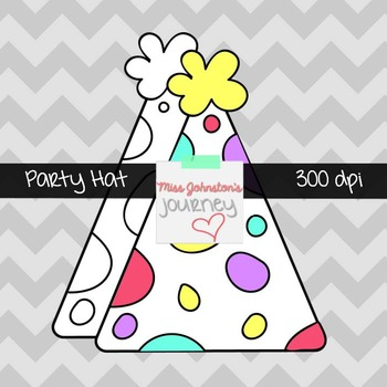 Party Hat Clipart {freebie}