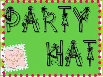 Party Hat Font