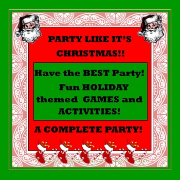 Party Like It's Christmas! A Complete Party!