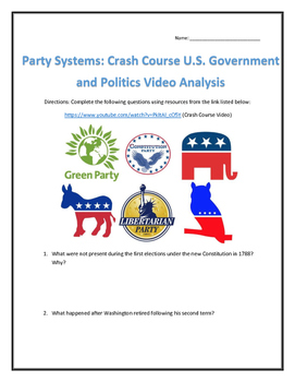 Party Systems: Crash Course U.S. Government and Politics V
