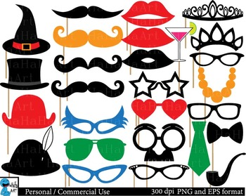 Party booth props ClipArt Personal, Commercial Use 135 PNG