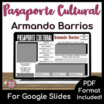 Pasaporte Cultural - Armando Barrios