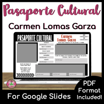 Pasaporte Cultural - Carmen Lomas Garza