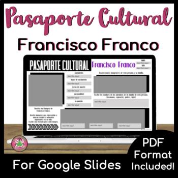 Pasaporte Cultural - Francisco Franco