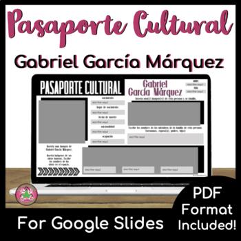Pasaporte Cultural - Gabriel García Márquez