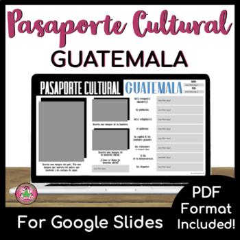 Pasaporte Cultural - Guatemala