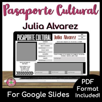 Pasaporte Cultural - Julia Alvarez