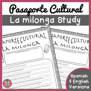 Pasaporte Cultural - La milonga