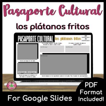 Pasaporte Cultural - Los plátanos fritos