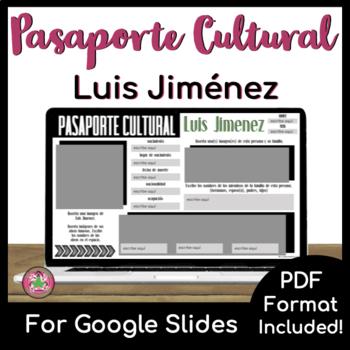 Pasaporte Cultural - Luis Jiménez