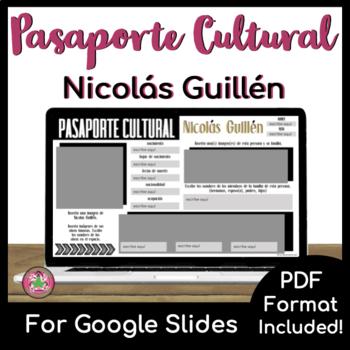 Pasaporte Cultural - Nicolás Guillén