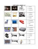 Paso a Paso 2 Chapter 1.2 Vocabulary
