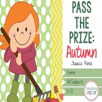 Pass the Prize Following Directions Game: Fall/Autumn