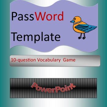 PassWord PowerPoint Template