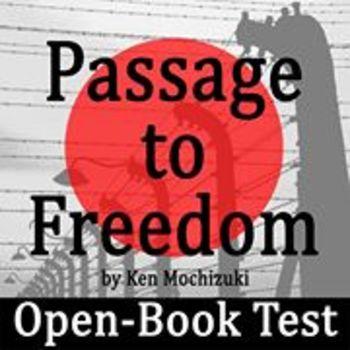 Passage to Freedom by Ken Mochizuki - Open-Book Test