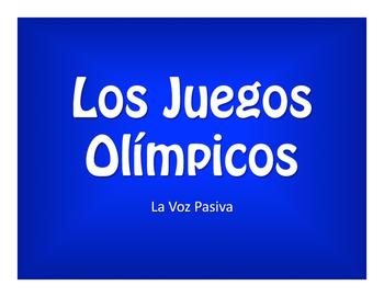 Spanish Passive Voice Olympics