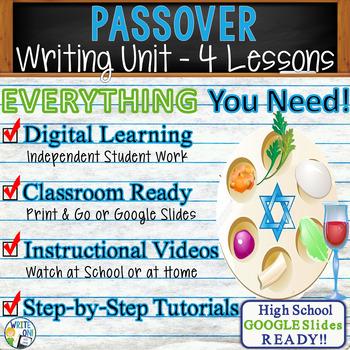 Passover Writing BUNDLE! -  Argumentative, Persuasive, Exp