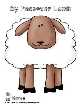Passover Lamb Craftivity