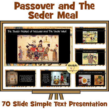 Passover - Simple Text Presentation For Younger / Special