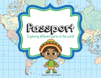 Passport and Continents Activity