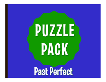 Spanish Past Perfect Puzzle Pack