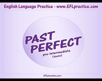 Past Perfect demo, pre-intermediate level (ESL/EFL video)
