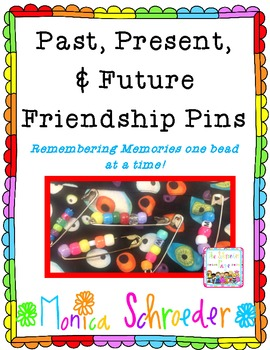Past, Present, and Future Friendship Pins