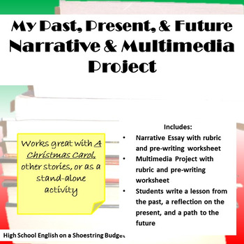 Past, Present, and Future Personal Writing (A Christmas Carol)