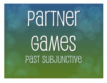 Spanish Past Subjunctive Partner Games