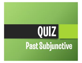 Spanish Past Subjunctive Quiz