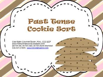 Past Tense Cookie Sort
