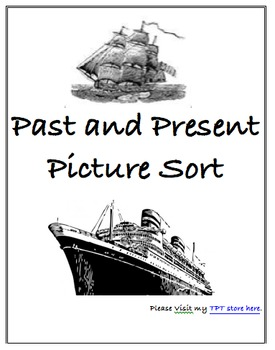 Past and Present Picture Sort #2