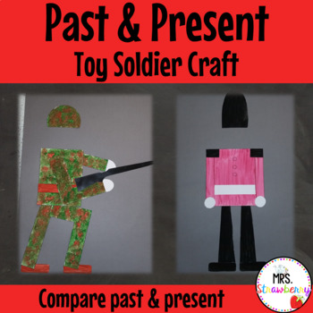 Past and Present Toy Soldier Craft - History - {Anzac Day}