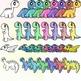 Pastel Dinosaurs Full Set