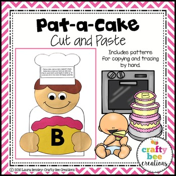 Pat-a-Cake Cut and Paste