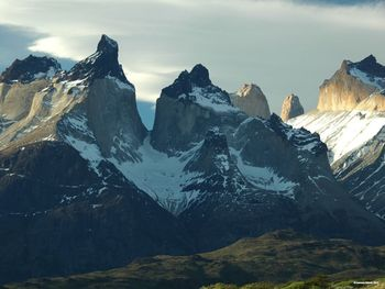Patagonia Mountain Landscape Photograph