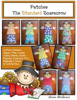 Patches the Standard Scarecrow Activity Packet
