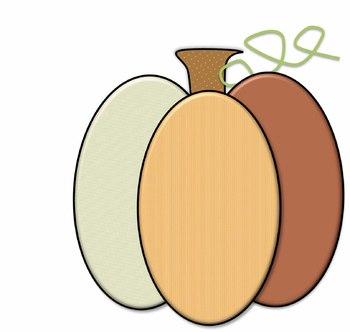 Patchy Pumpkin Clipart