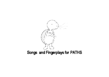 Paths Songs and Fingerplays Cards