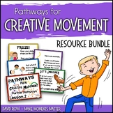 Pathways for Creative Movement - PowerPoints Flash Cards,