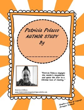 Patricia Polacco Author Study Packet