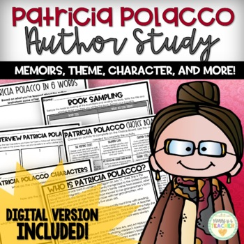 Patricia Polacco Author Study: Memoirs/Theme w/ Chicken Su