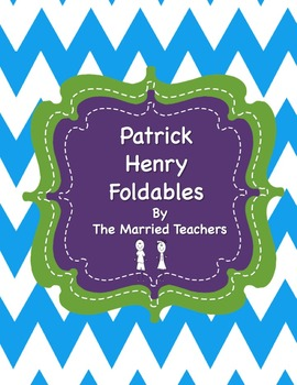 Patrick Henry Interactive Historical Figure Foldables