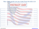 Patriot Day 9-11 CLIP (Creative Learning in a Pinch)