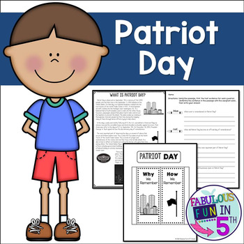 Patriot Day: September 11th Remembrance: Nonfiction Passag
