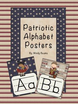 Patriotic Alphabet Posters